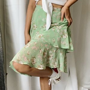 Anthropologie June & Hudson Flora Skirt